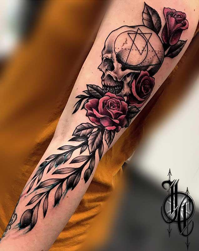Tatuajes baratos en madrid barrio Las rosas