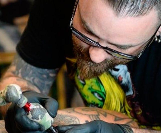 higiene al hacer un tatuaje